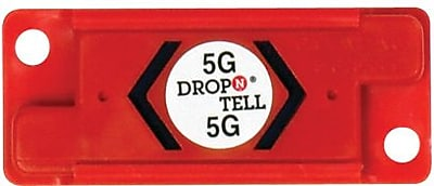 Resettable Drop-N-Tell Indicators, 5G, 25/Case