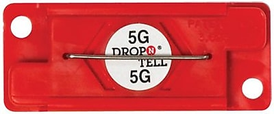 Drop-N-Tell Indicator, 5G, 25/Case