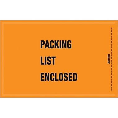 Staples Packing List Envelope, 5 1/4