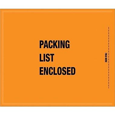 Staples Packing List Envelope, 8 1/2