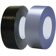 "Tape Logic Heavy Duty Cloth Duct Tape, Black, 2"" x 60 Yards, 3 Rolls"