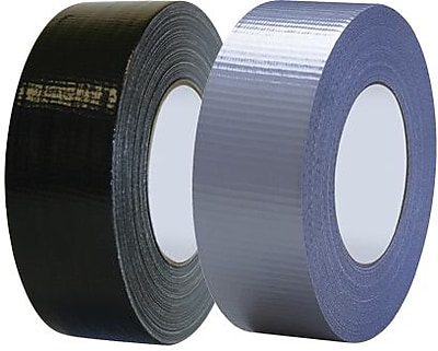 Tape Logic Industrial Cloth Duct Tape, Black, 2