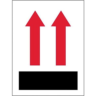 Labels, (two up arrows over red bar), 3