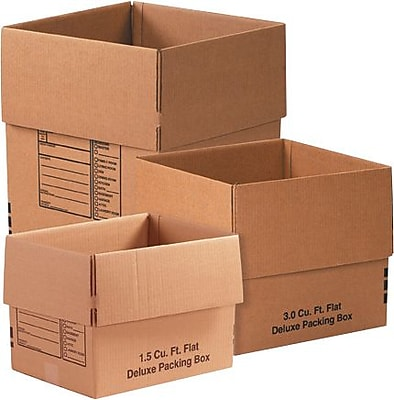 Staples - #1 Moving Shipping Box Combo Pack, 1 Kit