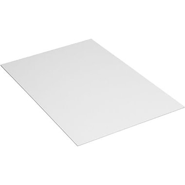 Staples White Plastic Sheets