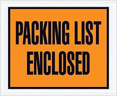 Packing List Envelope, 4 1/2
