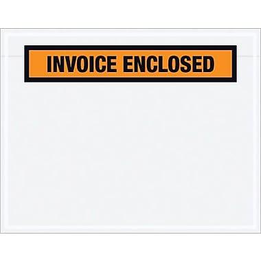 Staples Packing List Envelopes, Orange