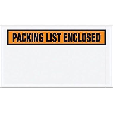 Packing List Envelope, 5 1/2