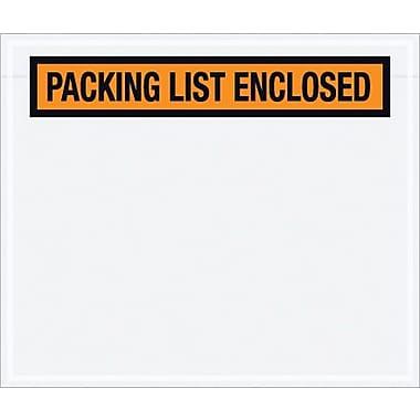 Packing List Envelope, 6 1/2
