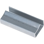 """1/2""""  -  Staples  Open/Snap  On  Metal  Poly  Strapping  Seals,  2500/Case"""