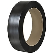 """5/8"""" x 6000' - 8"""" x 8"""" Core - Staples Hand Grade Polypropylene Strapping - Embossed, 600 lbs., 1 Coil"""