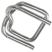 """SI Products Heavy-Duty Wire Poly Strapping Buckles, 1/2"""", 1000/Carton (PS12HDBUCK)"""