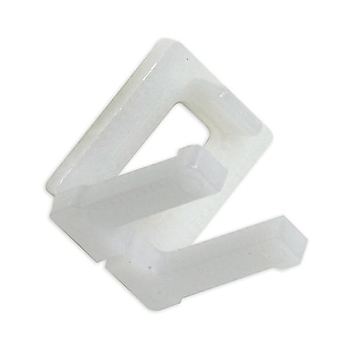 """Staples Plastic Buckles Poly Strapping Buckles, 1/2"""", Pack of 1000 (PS12PLBUCK)"""