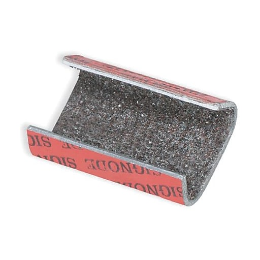 Sandpaper For Metal >> Staples Sandpaper Open Snap On Metal Poly Strapping Seal 1 2 Pack Of 1000 Ps12sand