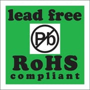 "Tape Logic Lead Free RoHs Compliant Shipping Label, 2"" x 2"", 500/Roll"