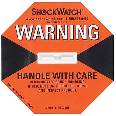 ShockWatch® Indicator, 75G