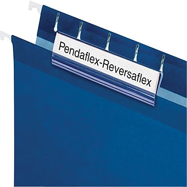 Pendaflex® – Onglet dur Reversaflex®, 3 1/2 po, incolore