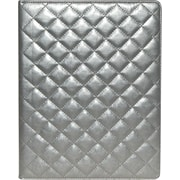 Buxton Quilted Padfolio, Pewter