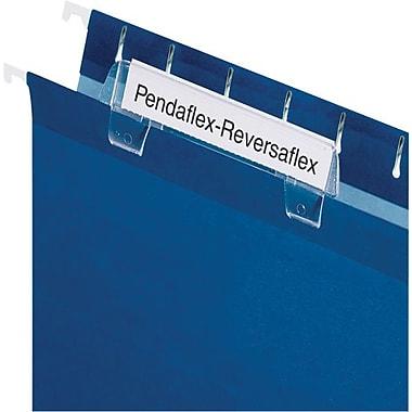 Pendaflex® – Onglet moulé Reversaflex®, 3 1/2 po, incolore