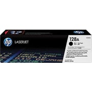 HP 128A Black Toner Cartridge (CE320AD), Twin Pack