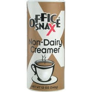 Office Snax® Powder Non-Dairy Creamer Canister, 12 oz, Regular, 24/Carton (0020CT)