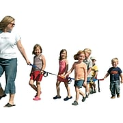 Brand New World Childs Walking Rope Safety Activity Set, Ages 3+ (BNWWR99)