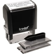 Self Inking Do It Yourself Message Stamp 3 4 X 1 7