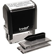 Trodus Self-Inking Do It Yourself Message Stamp (5915)