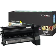 Lexmark XL Yellow Toner Cartridge (C782U1YG), Extra High Yield, Return Program