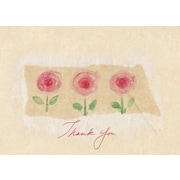 Great Papers® La Jardin Rose Thank You Note Cards, 24 count