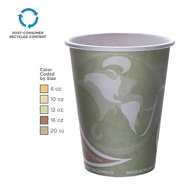 Eco-Products® Evolution World™ 24% PCF Hot Drink Cups