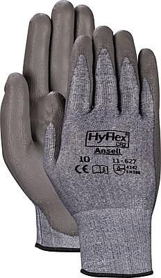 Ansell® HyFlex® CR2 Gloves, Polyurethane Palm, Knit-Wrist Cuff, Medium