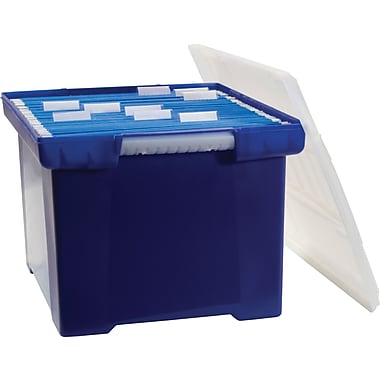 Staples® File Tote, Letter/Legal