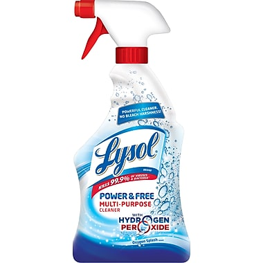 LYSOL® Power & Free™ Multi-Purpose Cleaner, Oxygen Splash Scent, 22 oz.