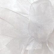 """Shamrock Berwick/Offray White Simply Sheer Asiana (Mono-edge) Ribbon 1.5"""" x 100'"""