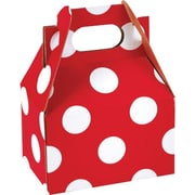 "Shamrock Gable Box - 4"", Cheery Dots"