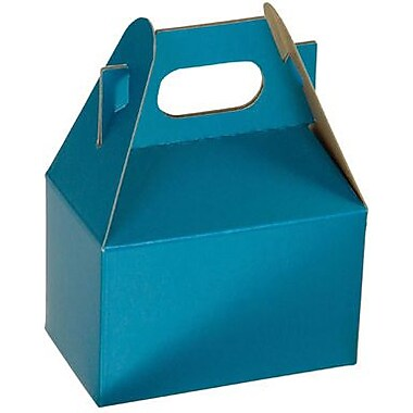 Shamrock Gable Boxes Shimmer Frost Peacock