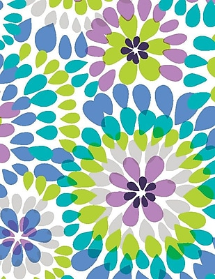 Shamrock Make a Splash Gift Wrap, Half