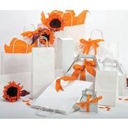"Shamrock Bonita Kraft Paper 12.5""H x 5.5""W x 3.25""D Shopping Bags, Brown, 250/Case"