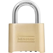 Master Lock® Resettable Combination Padlock, Brass