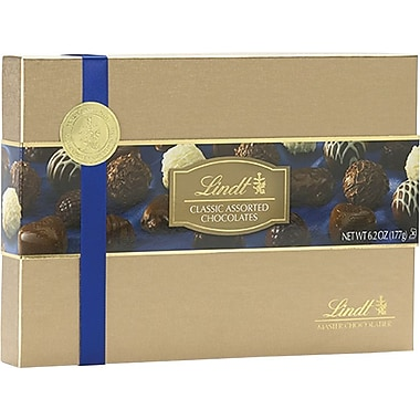 Lindt Classic Assorted Chocolates Gift Box, 6.2 oz.