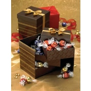Lindt® LINDOR Truffles Tri-Level Gift Box, 45 Assorted Truffles