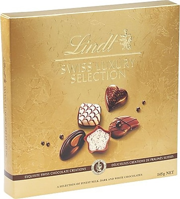 Lindt Swiss Luxury Selection Assorted Chocolates, 4.9 oz/Each (438879A)