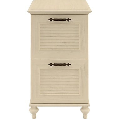 kathy ireland® Office by Bush Furniture Volcano Dusk 2 Drawer File, Driftwood Dreams (ALA009DD)