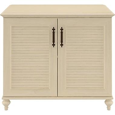 kathy ireland® Office by Bush Furniture Volcano Dusk 2 Door Cabinet, Driftwood Dreams (ALA016DD)