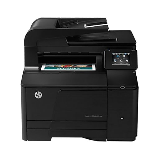 Printer Specifications for HP LaserJet Pro 200 Color MFP ...