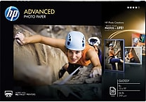 HP Advanced Photo Paper 13' x 19' Glossy 20/Pack (CR696A)
