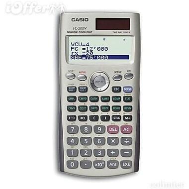 Casio FC200V Financial Calculator