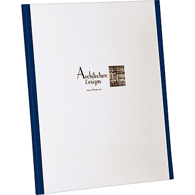 Oxford Your Style ™ Custom Tri-Folio, Navy, 4/Pack
