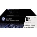 HP 85A (CE285D) Ens. 2 cartouches de toner HP LaserJet noir d'origine